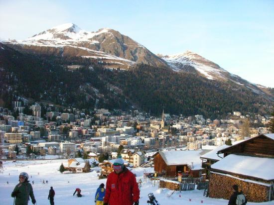 Waldhotel Davos: skiing in Davos