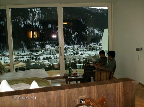 Waldhotel Davos: room with view...