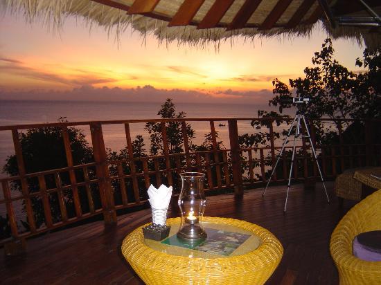 Thipwimarn Resort: Nice sunsets