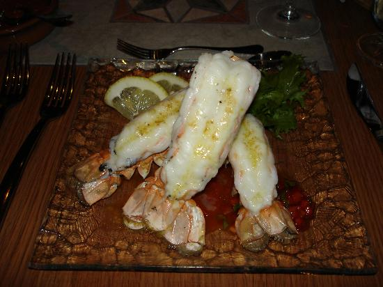 Hotel Glymur: Anyone for Lobster?