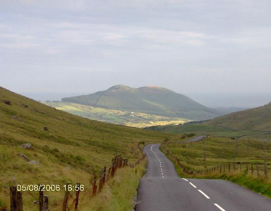 Kilkeel, UK: one of the roads through the mountains close by