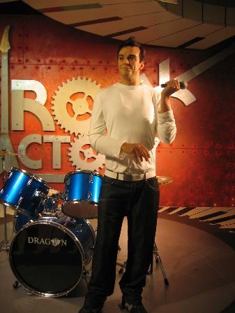 Madame Tussauds Blackpool: Robbie