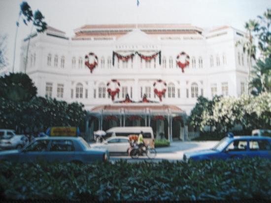 Raffles Hotel Singapore: The beautiful Raffles Hotel