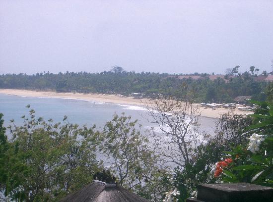 Four Seasons Resort Bali at Jimbaran Bay: view from villa