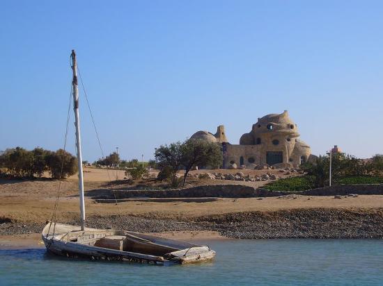 El Gouna, Egypt: Boat