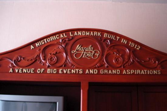 Foto de The Manila Hotel