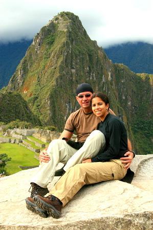 Belmond Miraflores Park: Nadine & Michael in Machu Picchu