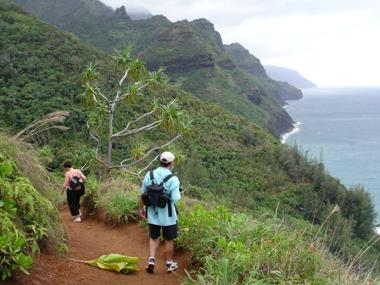 Kauai Hiking Trails - Kalalau Trail, Kukui Trail, Kuilau Ridge Trail