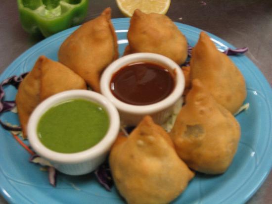 Curry Leaf: Spicy Samosas