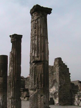 Снимок Помпеи