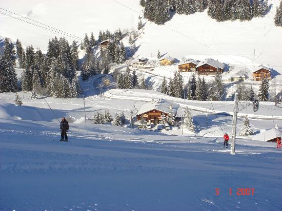 Hotel Chalet Alpage: A view from Les Joux