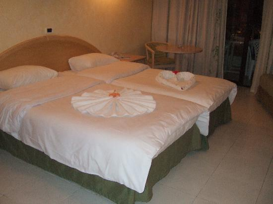 Ghazala Gardens Hotel: our room