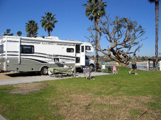 Newport Dunes Rv Park >> Corner Campsite Picture Of Newport Dunes Waterfront Resort