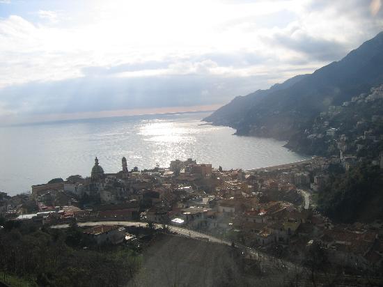 View of downtown Vietri Sul Mare