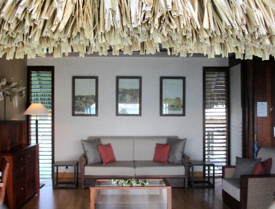 InterContinental Bora Bora Resort & Thalasso Spa: Living room