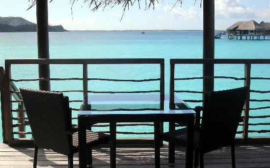 InterContinental Bora Bora Resort & Thalasso Spa: Upper deck
