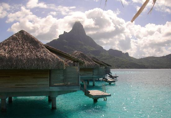 InterContinental Bora Bora Resort & Thalasso Spa: View from lower deck