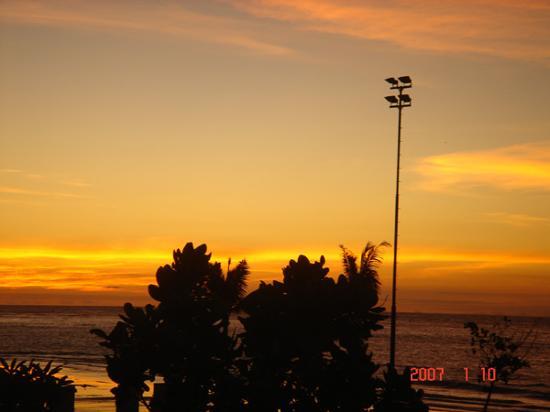 คูตา, อินโดนีเซีย: Sunset at KUTA