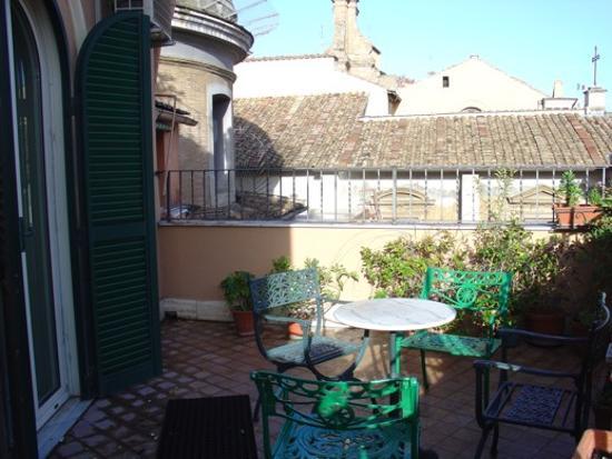 Hotel Hiberia: Terraza habitación 425