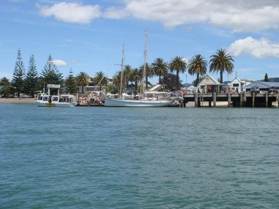 Whitianga Wharf- people ferry leaves from here to Flaxmill Bay, Cooks Beach, Hahei & Hot...