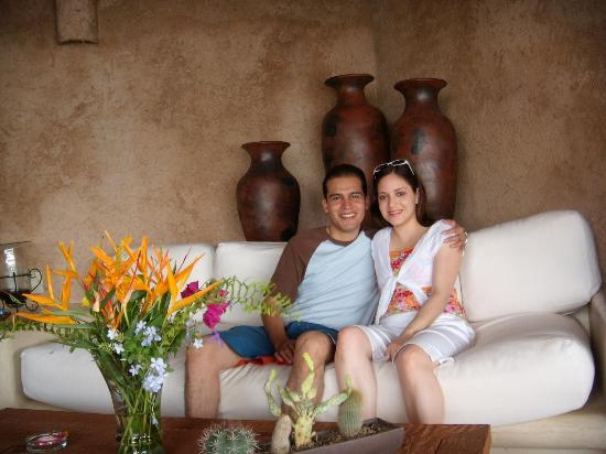 Hotel Cinco Sentidos: At the living room