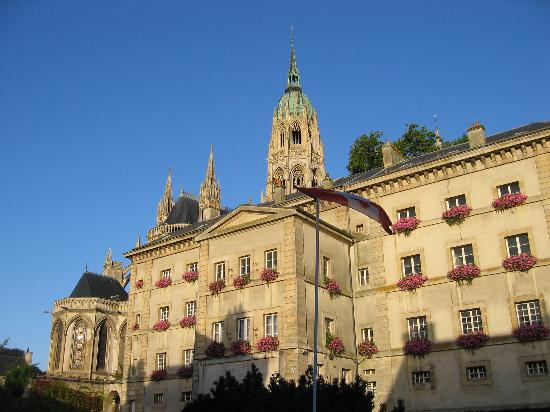 Нормандия, Франция: Bayeux Town (city) Hall