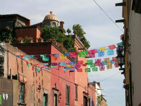 San Miguel de Allende, Meksika: street scene