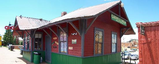 Cripple Creek & Victor Narrow Gauge Railroad: The Train Station