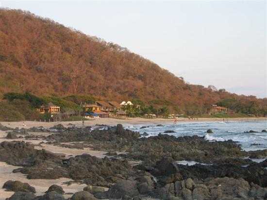 Hacienda Eden: View from beach back towards Eden