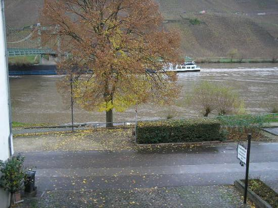 View from veranda: Mosel River: Halfenhof