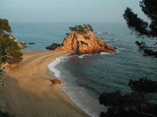 Platja d'Aro, Spain: Vu depuis Jardin
