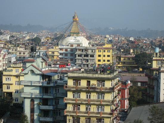 Hyatt Regency Kathmandu: Stupa view from bedroom