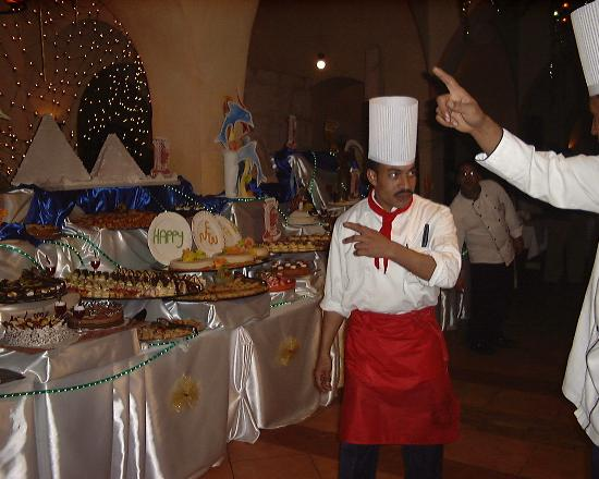 Jaz Makadi Oasis Resort and Club : New Years Eve dinner