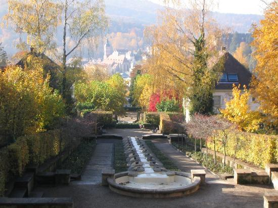Baden-Baden, Duitsland: Fall colors
