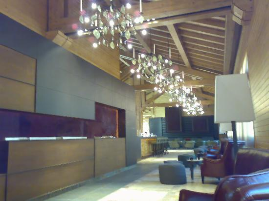 Sport Hotel Hermitage & Spa: The lobby area