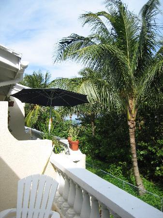 terrace of villa #208