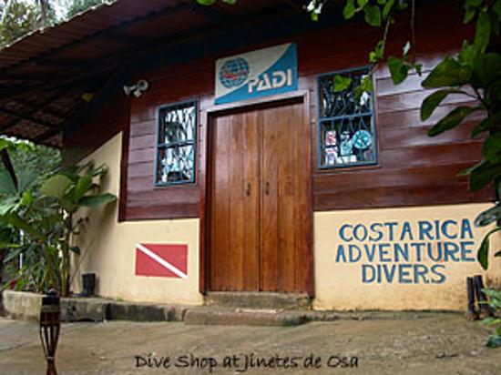 Jinetes de Osa Hotel: The Dive Shop