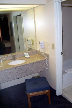 Vanity Outside Bathroom vanity area outside bathroom - picture of homewood suites