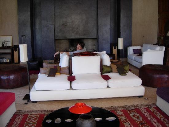 Skoura, Marruecos: salon de la maison principale