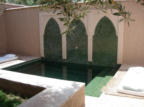 Dar Ahlam : piscine privée de notre villa