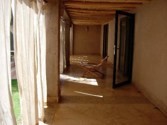 Dar Ahlam : patio de la villa