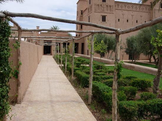 Skoura, Marruecos: jardins de l'hôtel