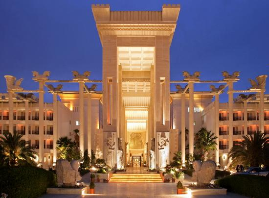 Dariush Grand Hotel Entrance