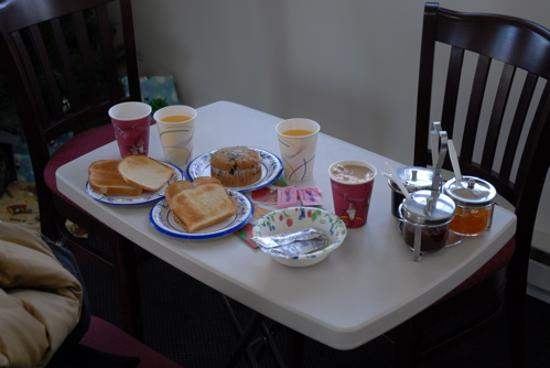 Taber Inne and Suites: our breakfast