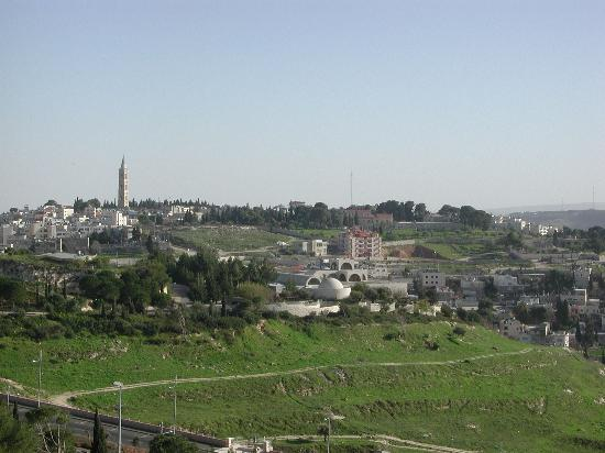 Maiersdorf Faculty Club Hotel : View of the Mount of Olives