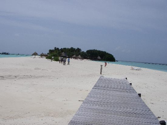 Veligandu Island Resort & Spa: Arrival at veligandu