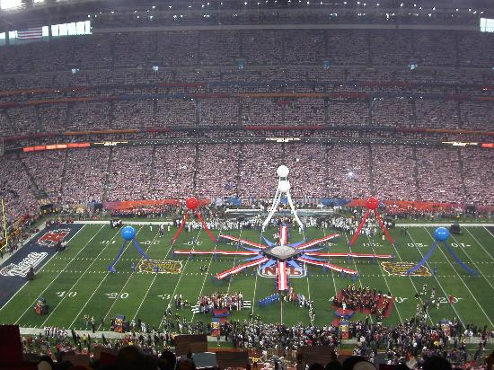 NRG Stadium: Super Bowl Pregame
