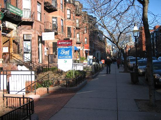 The famous newbury street picture of newbury street for Michaels crafts locations ma