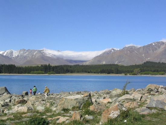 Lake Tekapo - taken from behind church