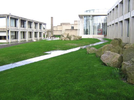 IMI Residence Dublin: A wet day but a great example of the unique grounds